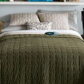 Found it at Wayfair - Blissliving Home Paulo Coverlet Set in Olive