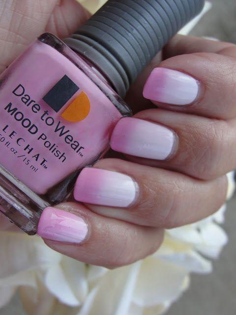 LeChat DUO-CHROMATIC NAIL POLISH REVIEW | Mood changing nail polish ...