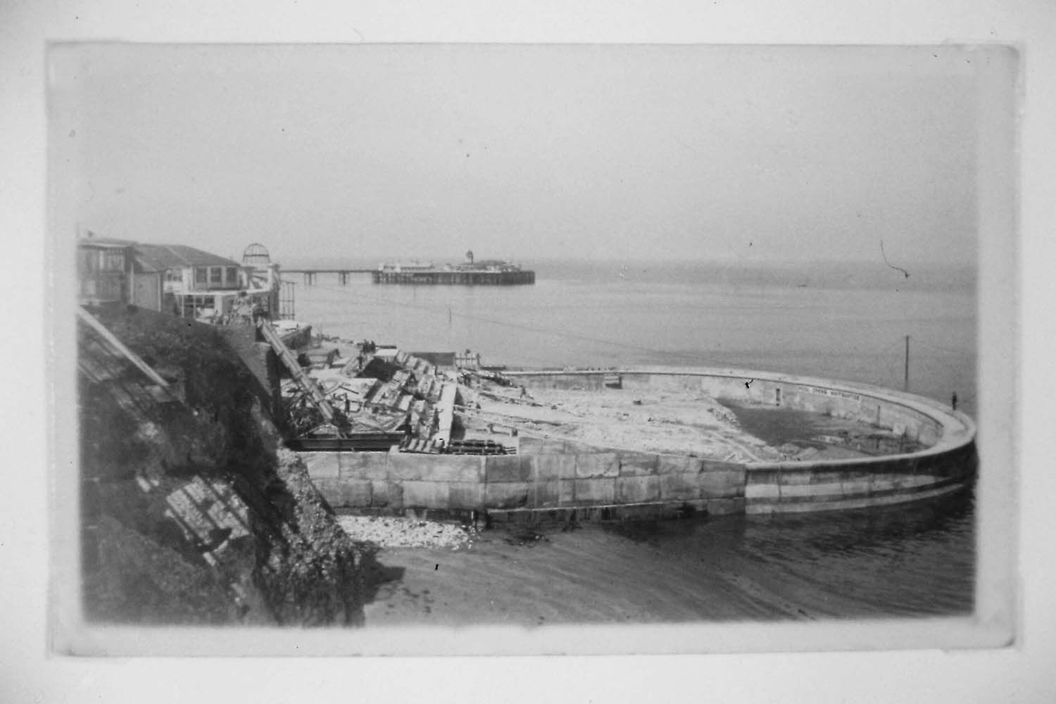 bathing machines at the historic clifton baths cliftonville lido