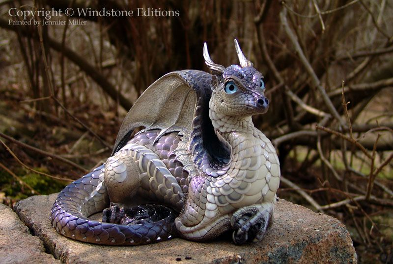Labradorite Lap Dragon by Nambroth.deviantart.com on @deviantART