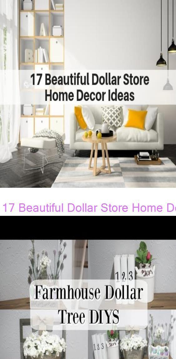 17 Beautiful Dollar Store Home Decor Ideas | The Flooring Girl FARMHOUSE DOLLAR TREE…