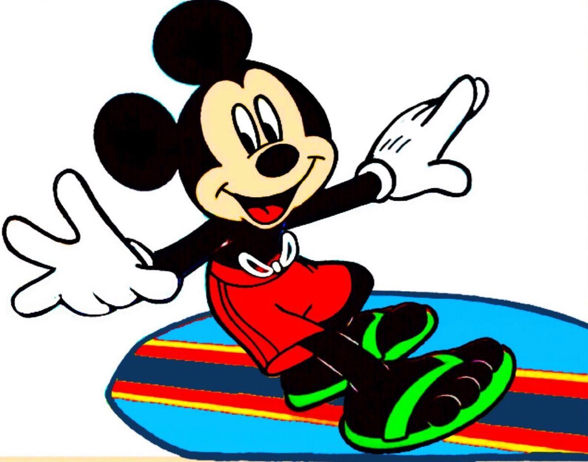 Pin by LaLa on All-Mickey-Sports   Disney clipart, Mickey ...