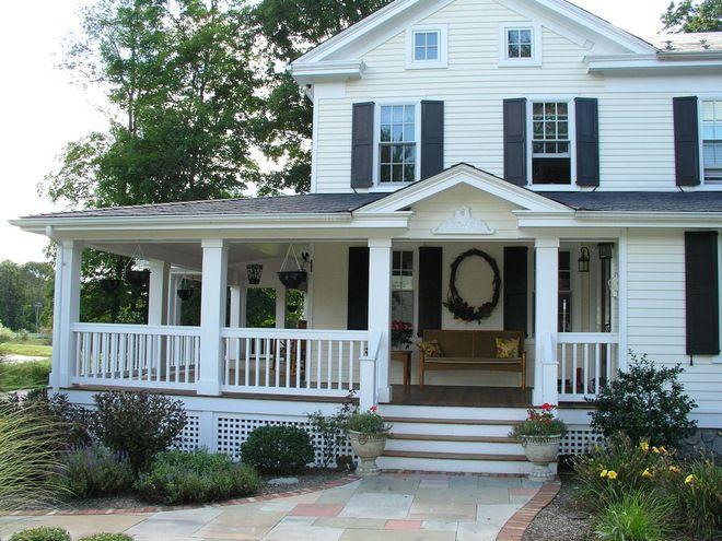 Farmhouse Porch Railings