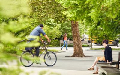 Buffalo Niagara Medical Campus Streetscape Urban park