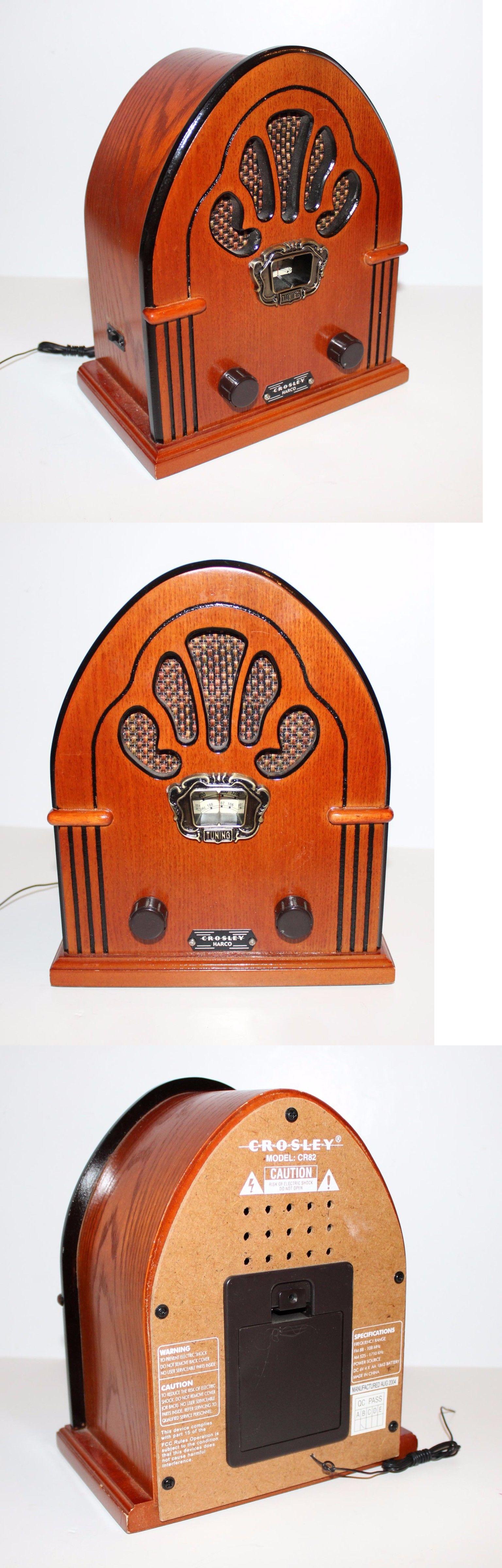 Vintage Radios Crosley 1930 Radio Harco Cr82 Reproduction Am Fm