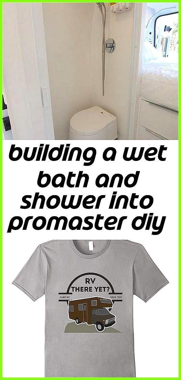 Photo of Ein nasses Bad und Dusche in den Promaster DIY Camper Van einbauen 4 Ein nasses Ba bauen