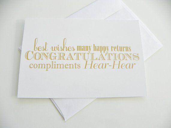 congratulations wedding card typography gold and white card best wishes wedding congratulations card