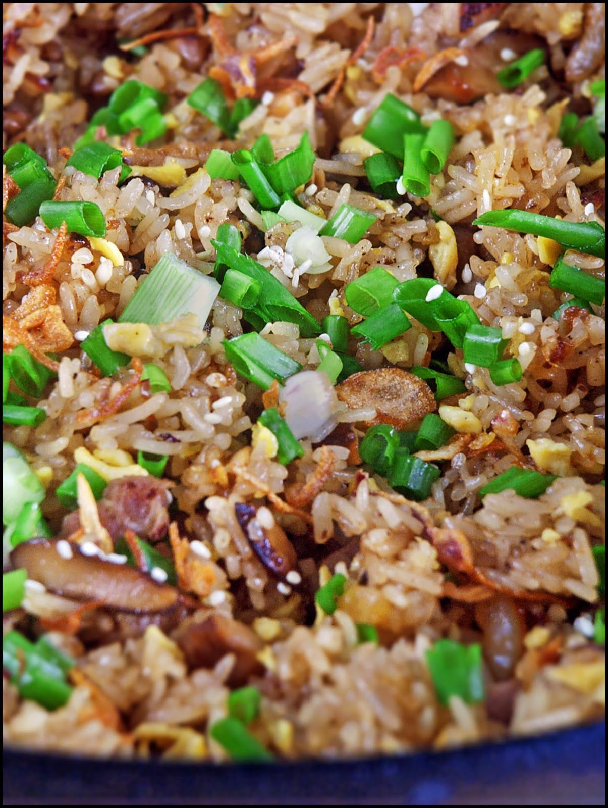 Fried Glutinous Rice | Recipe | Recipes, Bbq pork ribs ...