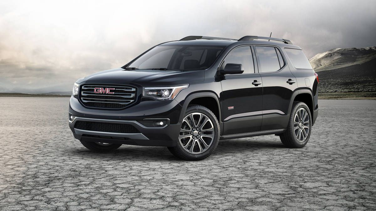 2017 Gmc Acadia First Drive A Lighter Shade Of Crossover Gmc