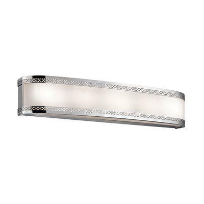 Fresh Chrome Bath Bar Light