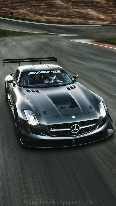 Mercedes Benz Sls Amg Gt3 Iphone 6 Plus Wallpaper Cars