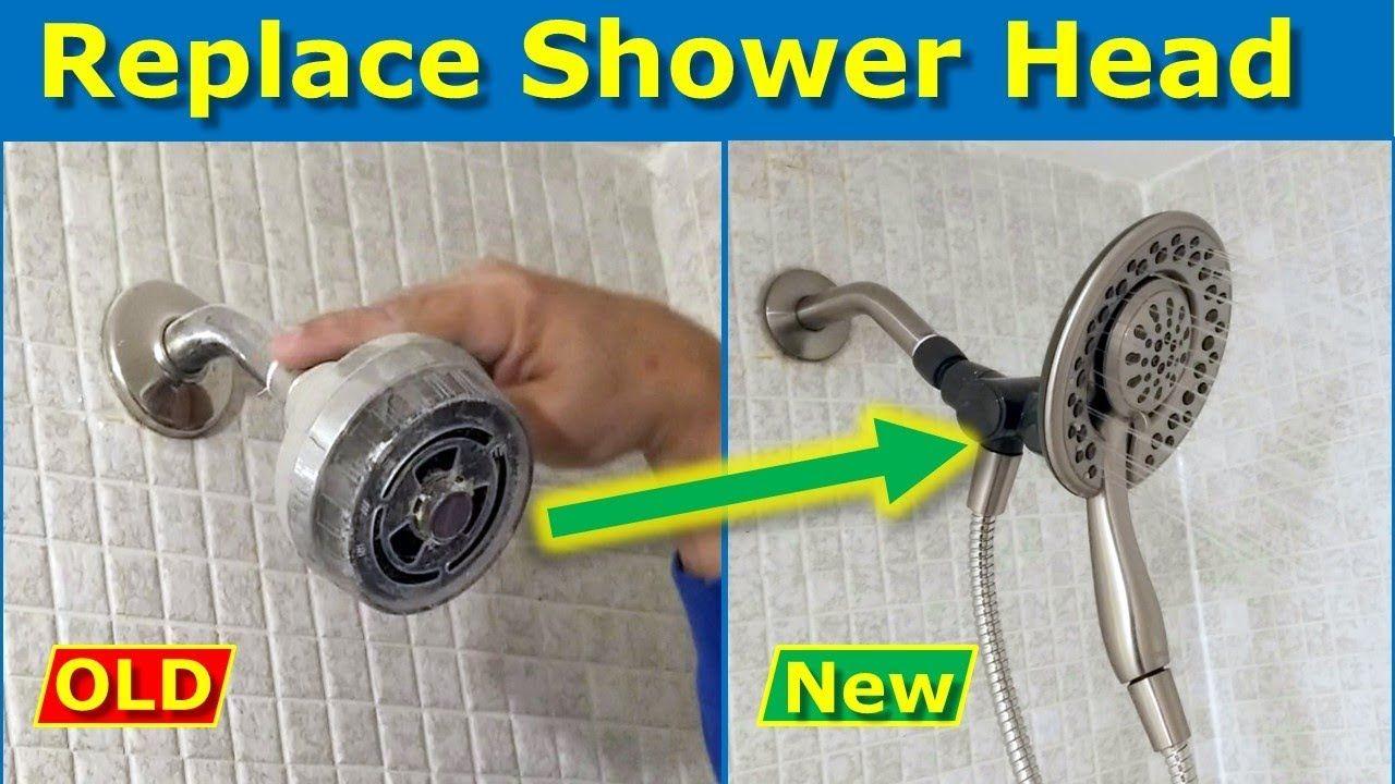 Delta Shower Head Installation How To Install A Shower Head Shower Heads Delta Shower Heads Replace Shower