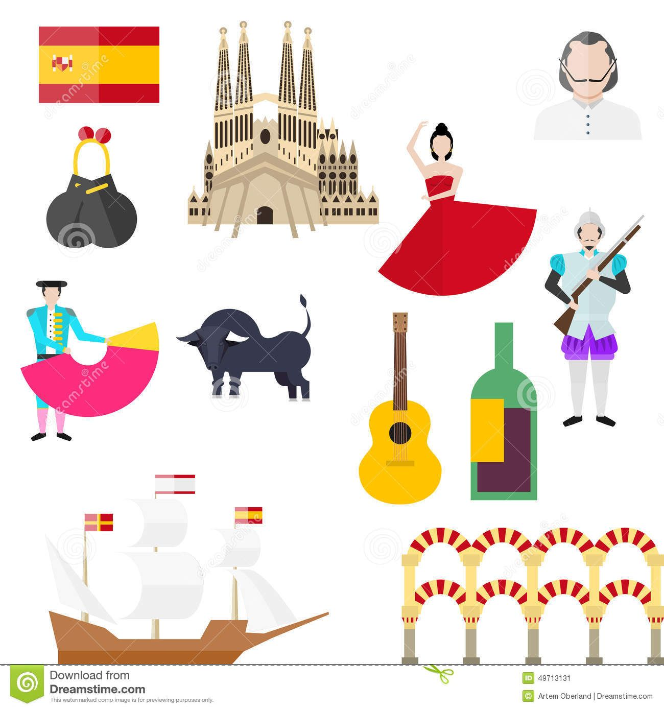Spanish symbols signs landmarks architecture barcelona - Agenda cultura barcelona ...