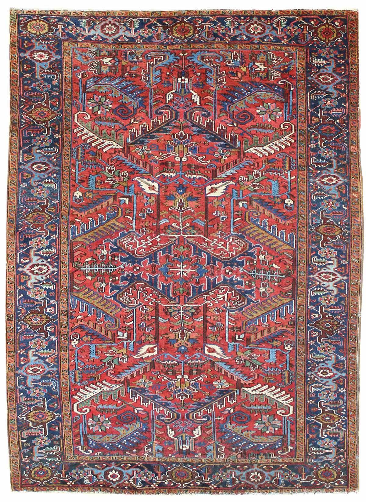 Antique Heriz Amp Serapi Rugs Gallery Antique Heriz Rug