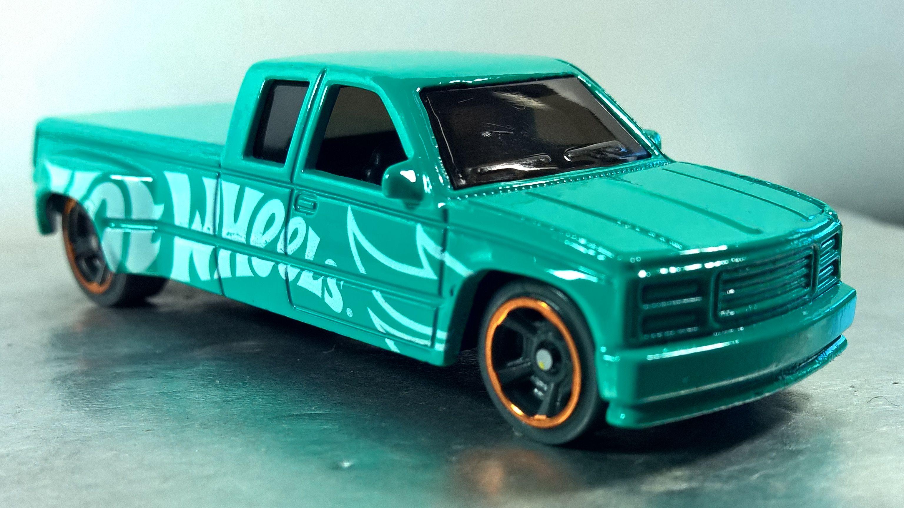Custom c3500 speed blur 5pack 2019 6 hot wheels toy