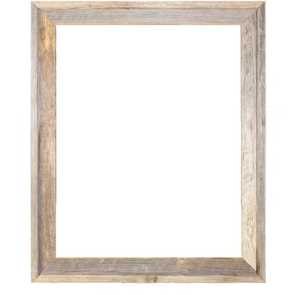 Rustic Barn Wood Open 18x24 Frame 25 Liked On Polyvore Featuring Home Home Decor Frames Bord Reclaimed Barn Wood Barn Wood Frames Rustic Picture Frames