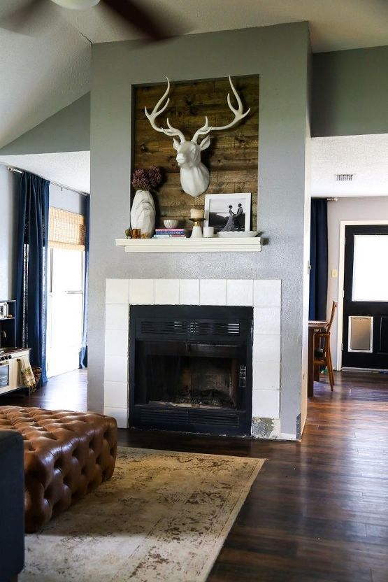 10 stylish DIY Home Decor ideas | Diy fireplace makeover ...