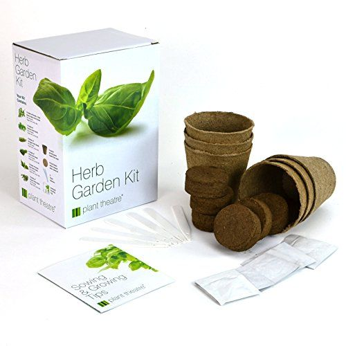 Exceptionnel Plant Theatre Herb Garden Seed Kit Gift Box U2013 6 Different Herbs To Grow,  Superb Gift!