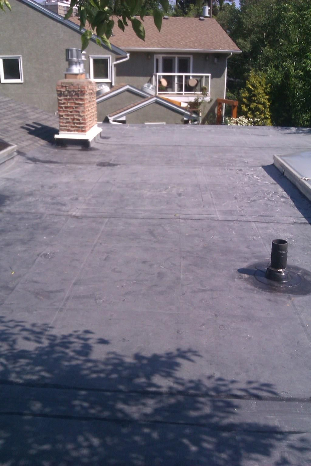 Edmonton Roof Repair On Twitter Flat Roof Flat Roof Replacement Epdm Flat Roof