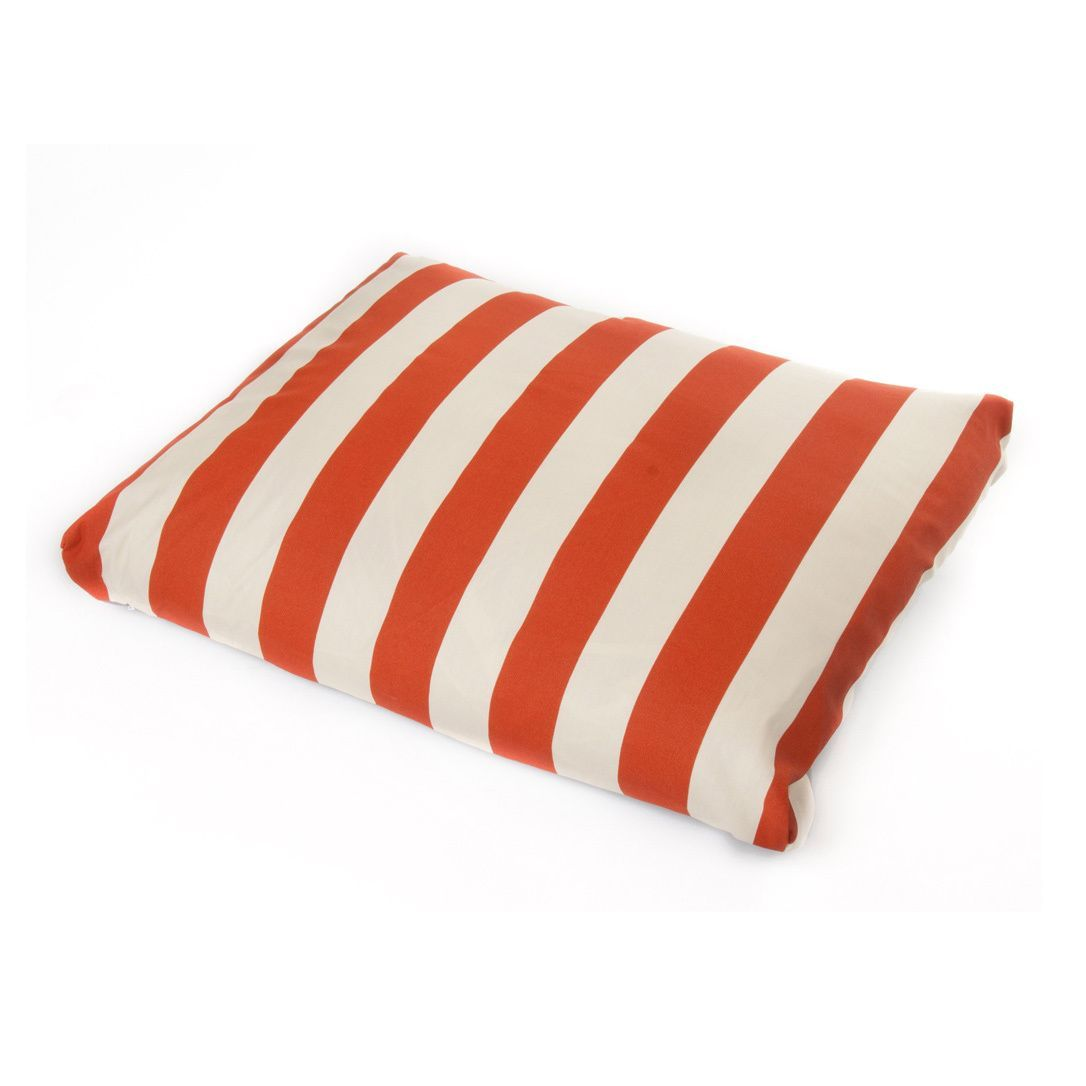 HRH Designs Cover Indoor/ Outdoor Striped Cabana Pet Bed