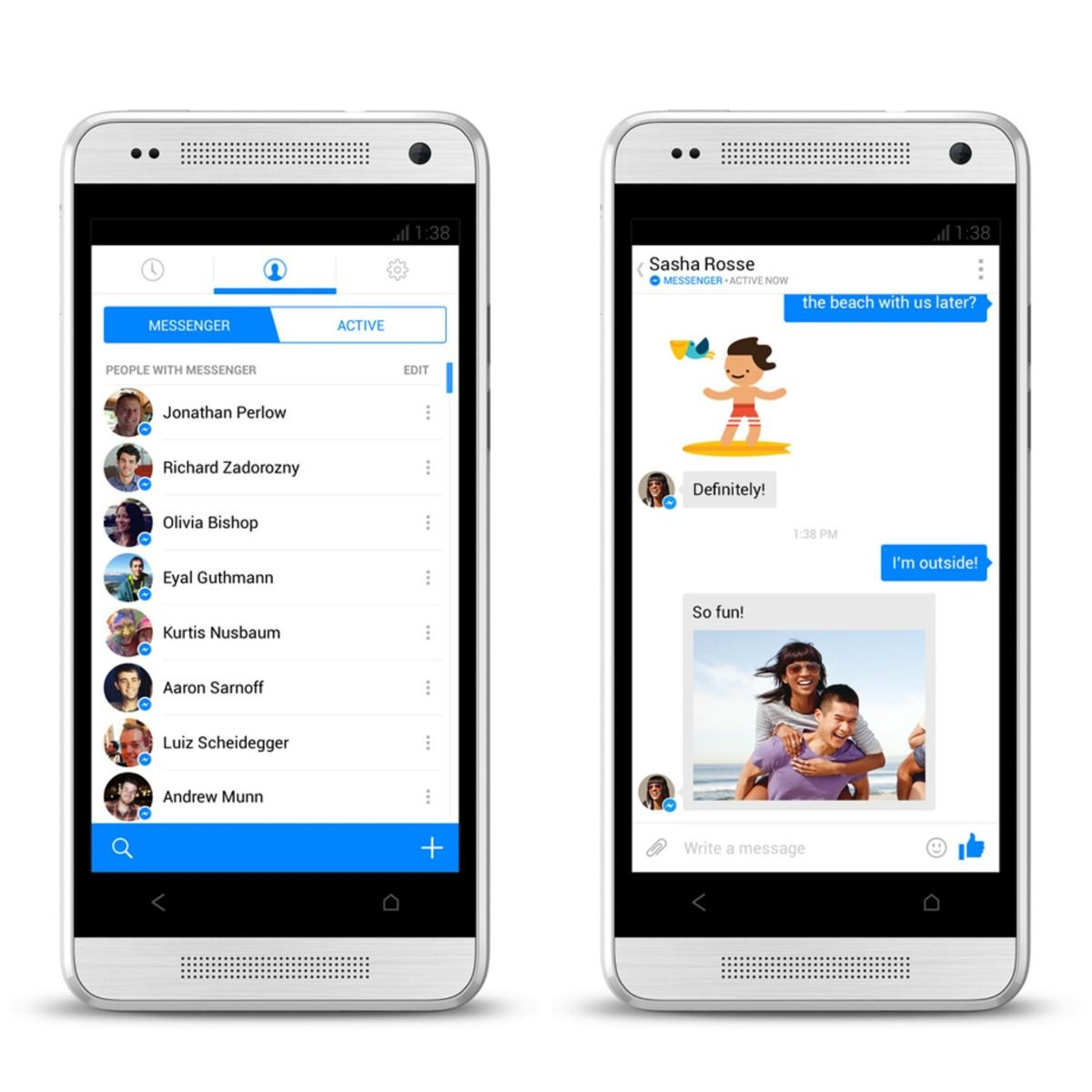 Facebook Messenger App Upgrade Available to All iOS