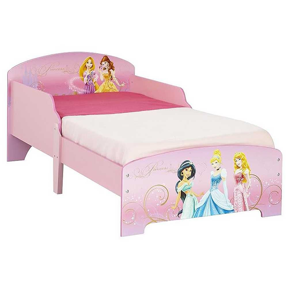 Disney Princess Snuggletime Toddler Bed | Disney princess ...