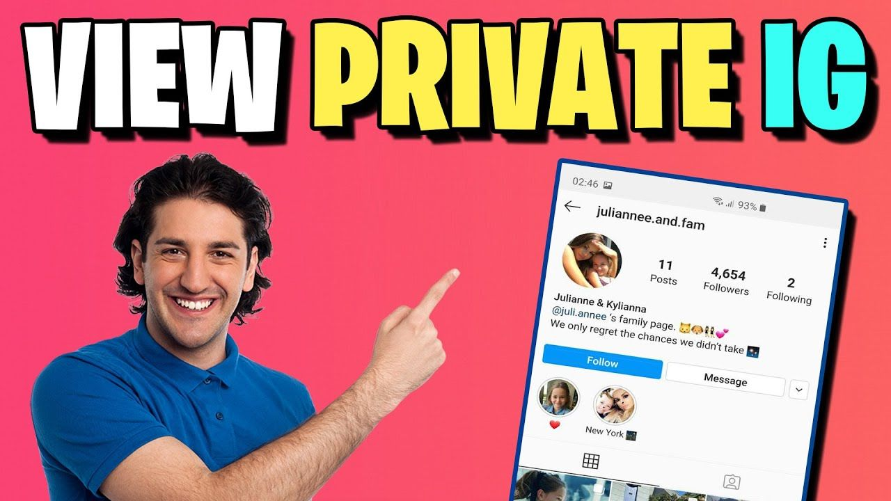 How to view private instagram story photos instagram