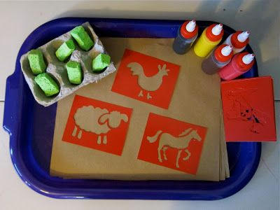 Joyfully Weary: Preschool Syllabus: Farms