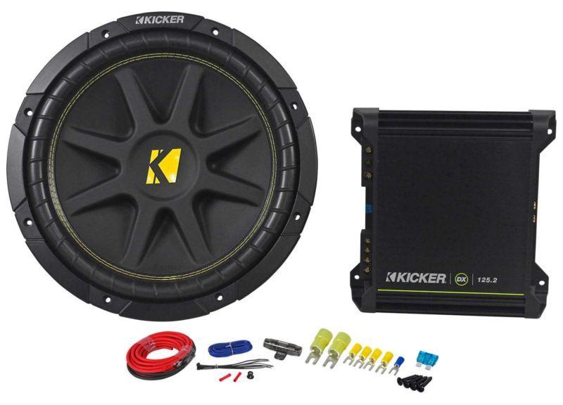 Amazing Kicker Comp 12 10C124 Subwoofer Package W 2 Channel Amplifier Wiring 101 Ziduromitwellnesstrialsorg