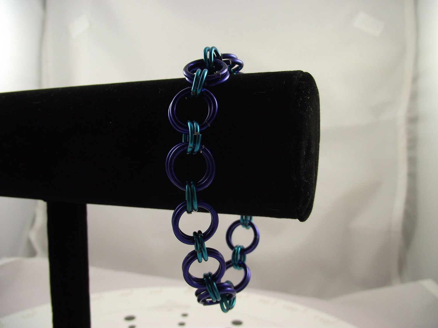 Simple Chainmaille Bracelet. $15.00, via Etsy.