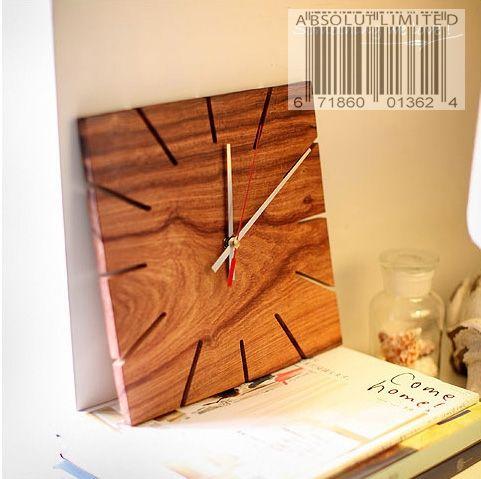 Handmade Retro Design Wood Clock About Wood Pinterest