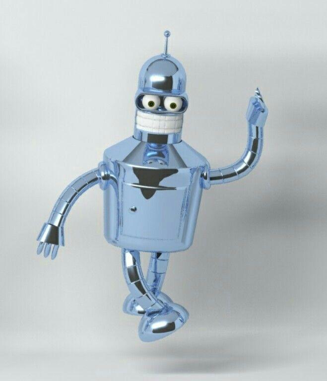 Meu Bender 3D :)