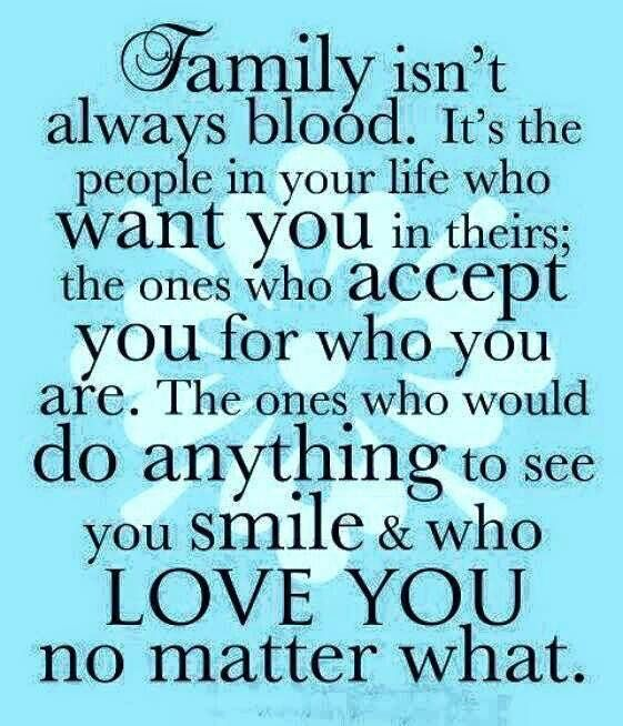 Loving And Appreciating My Family And Friends Who Are Like Family