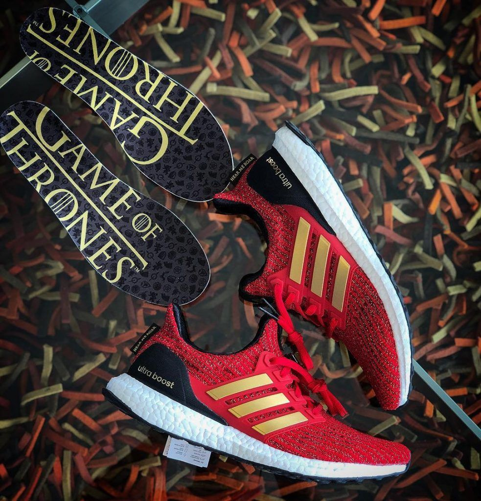 6850210ade427 game of throne adidas ultraboost house lannister hear me roar ...