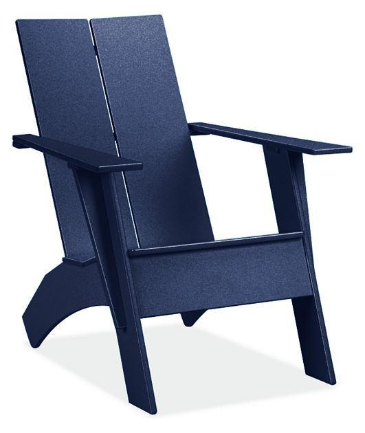 Emmet Outdoor Tall Lounge Chair Amp Ottoman Modern Outdoor