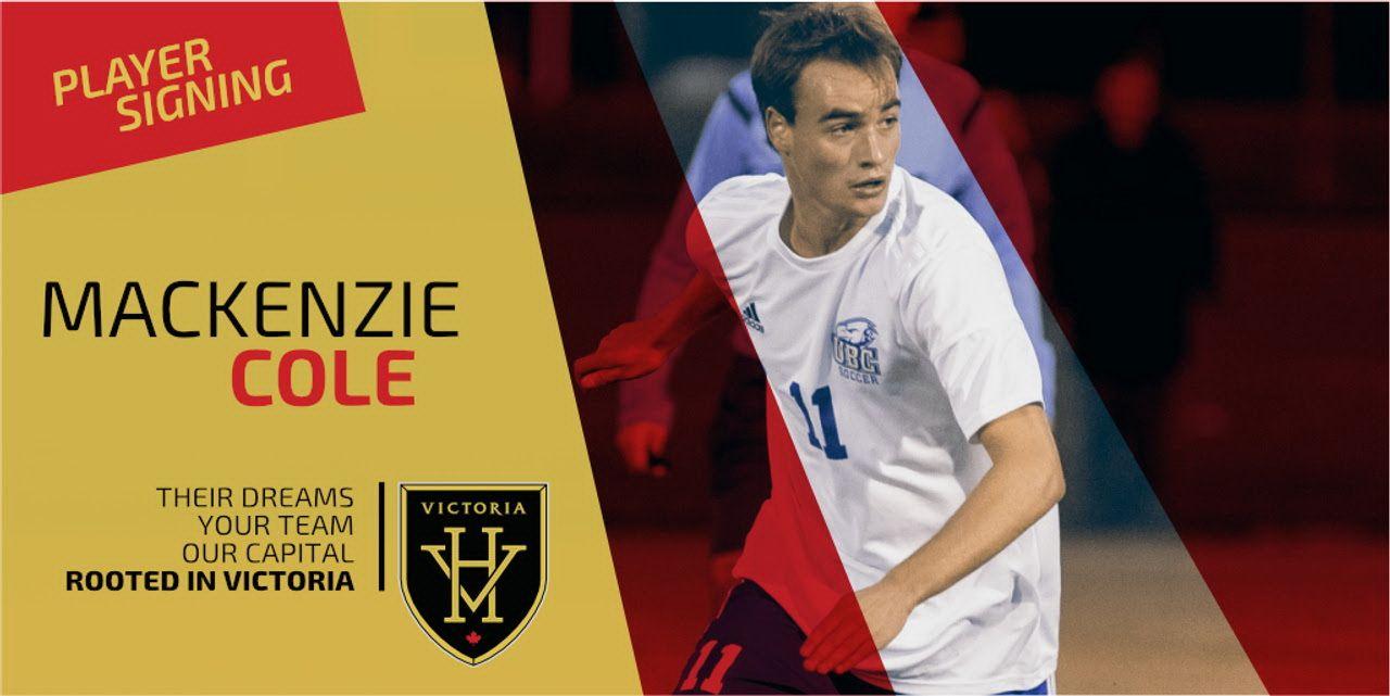 Highlanders Re Sign Mackenzie Cole Victoria Sport Play Soccer Mackenzie