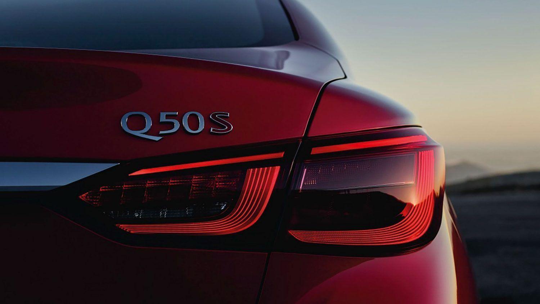 2018 INFINITI Q50 RED SPORT 400 Sedan LED taillight