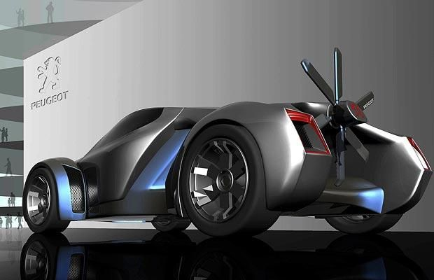 Peugeot asked designers to create a concept car for the cities of