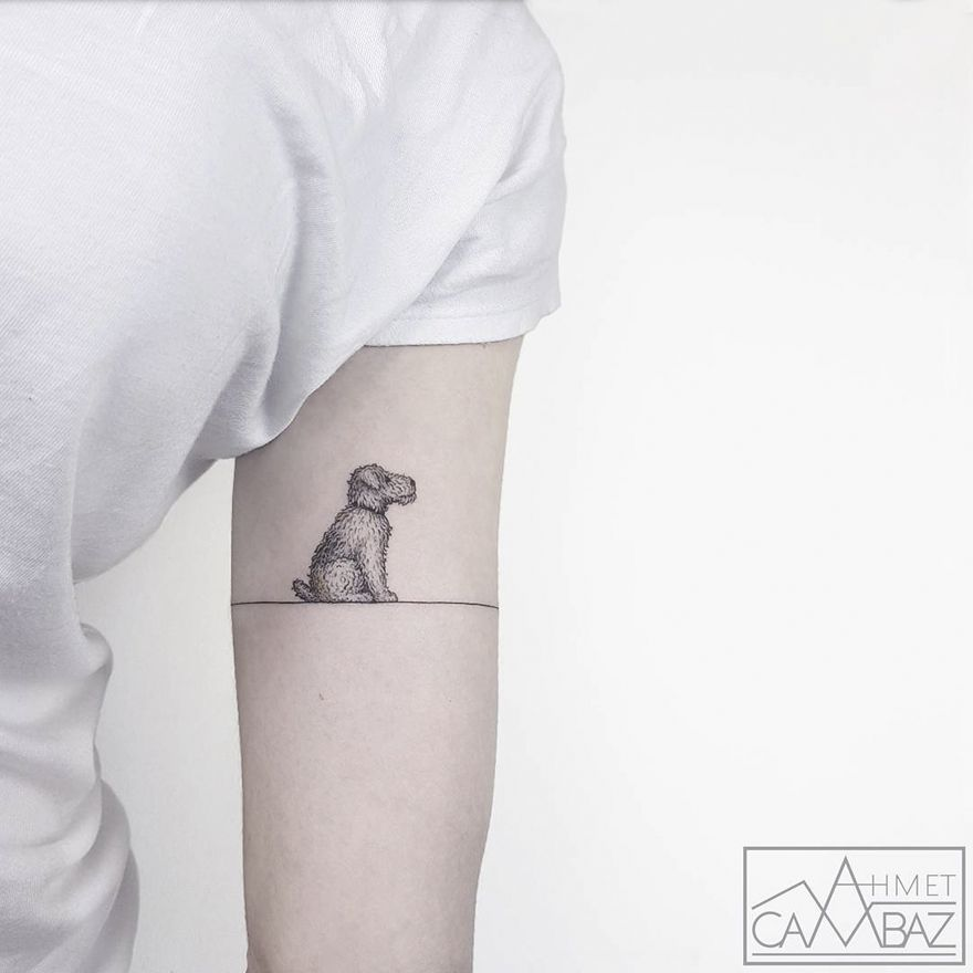 10 simple yet striking tattoos by former turkish cartoonist that you ll want on your skin