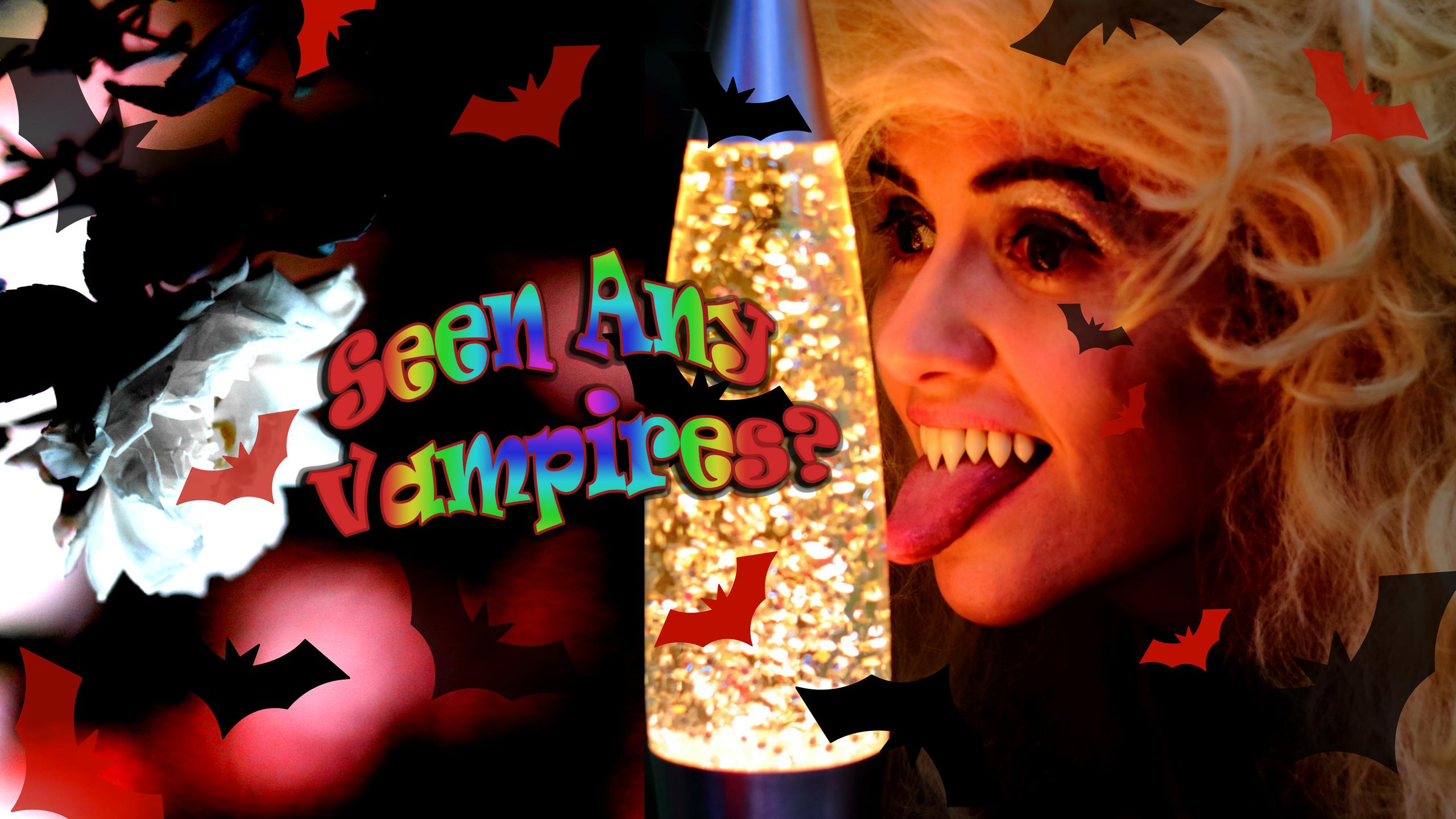 "Seen Any Vampires Bambi s Nosferatu Teeth"" blog post by FangSmith"