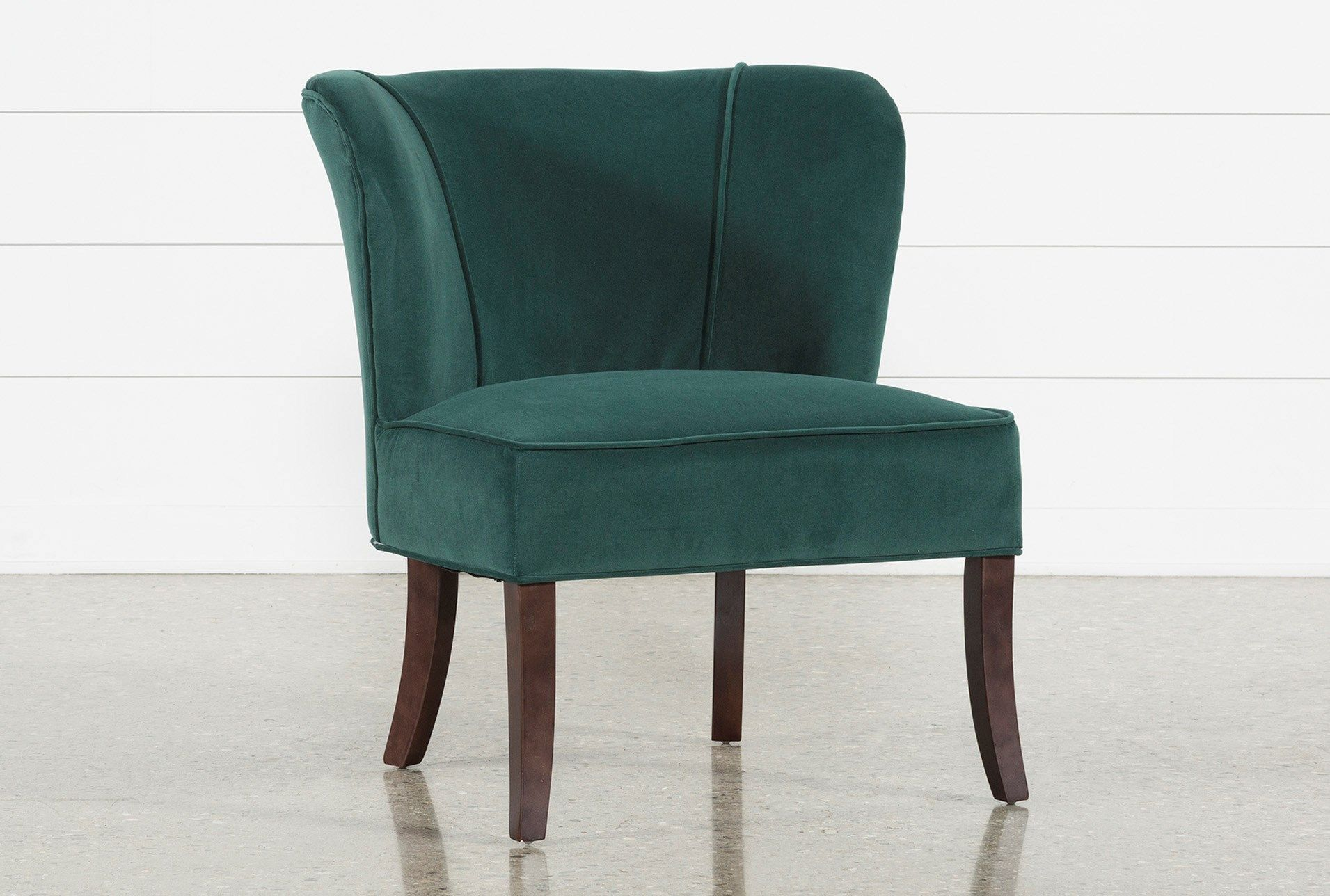 Best Krista Green Accent Chair 175 Blue Accent Chairs 640 x 480