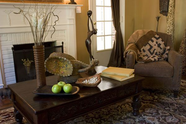 Determine Your Decorating Style African Home Decor African Living Rooms African Themed Living Room African themed living room decor