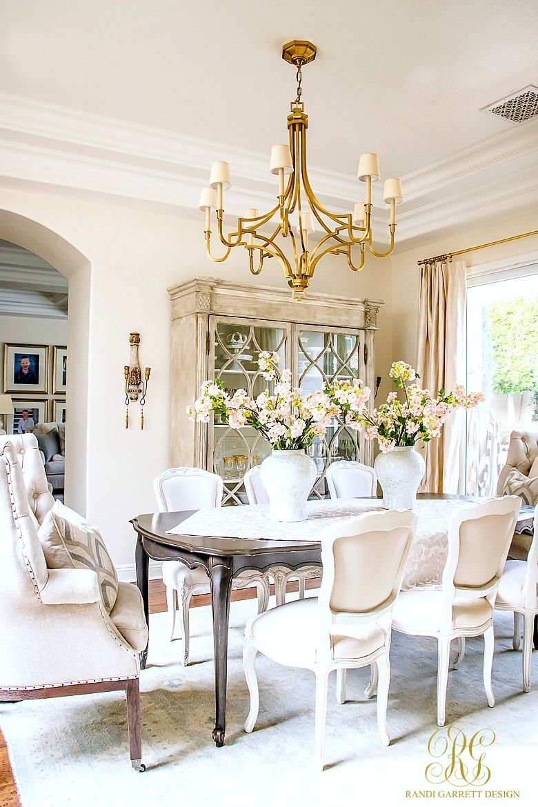 Transitional Dining Room Ideas Part - 43: Glam Transitional Dining Room Reveal
