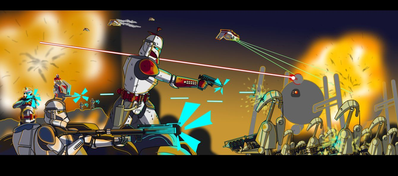 Coruscant Guard Battle Of Coruscant V2 By Myxacece Star Wars Clone Wars Star Wars Characters Star Wars Universe