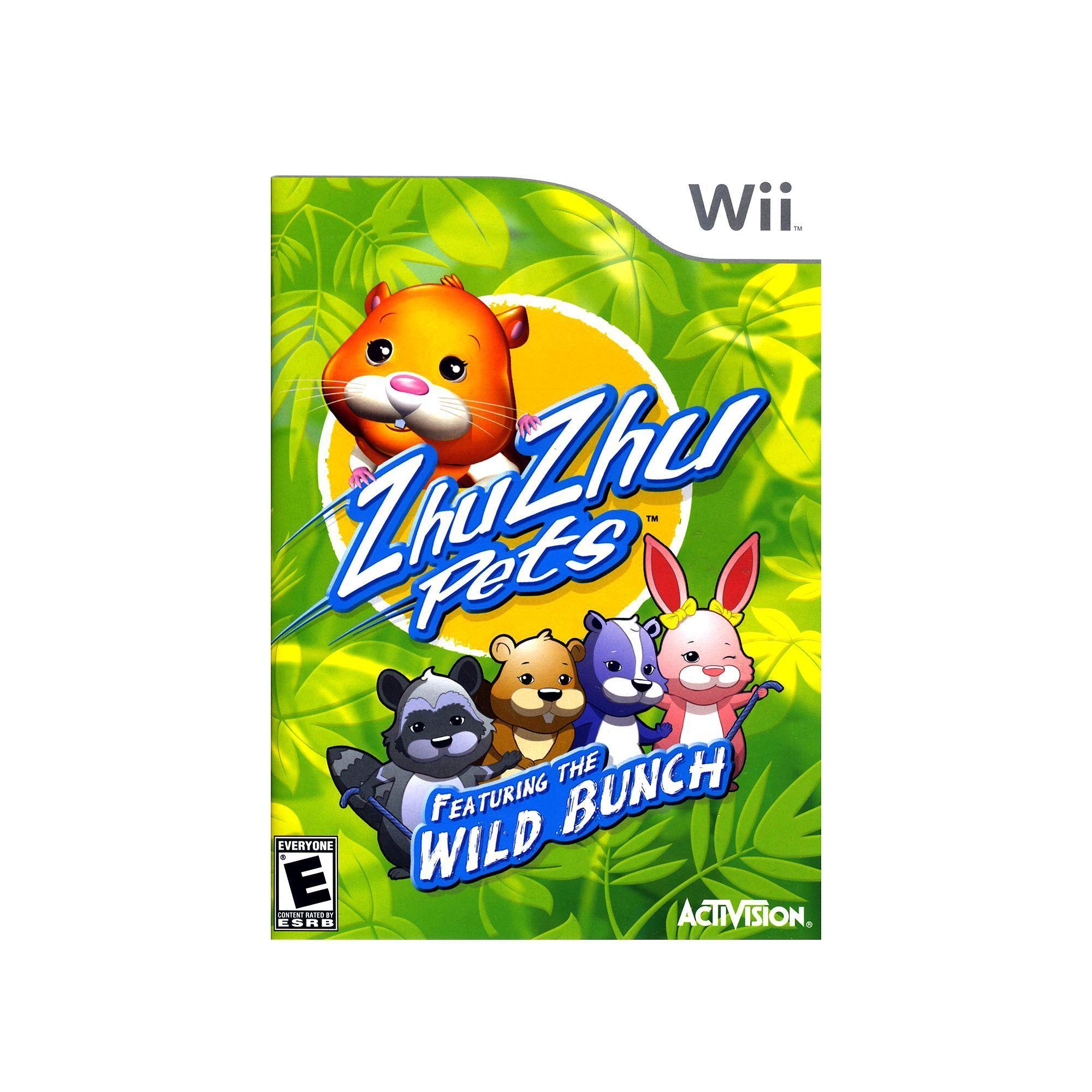 Zhu Zhu Pets Featuring the Wild Bunch for Nintendo Wii