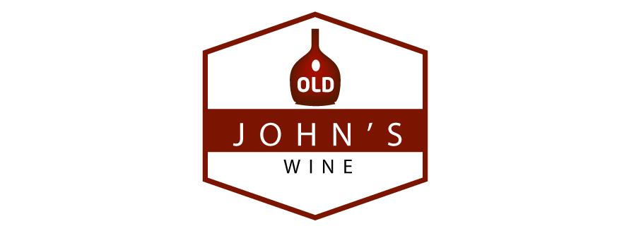 alcohol logo design old johns wine