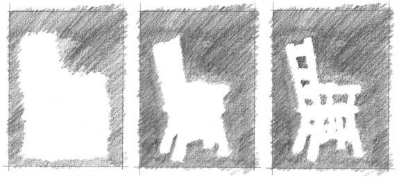 - Lessons - B09: Drawing Negative Space Surrounding a Chair