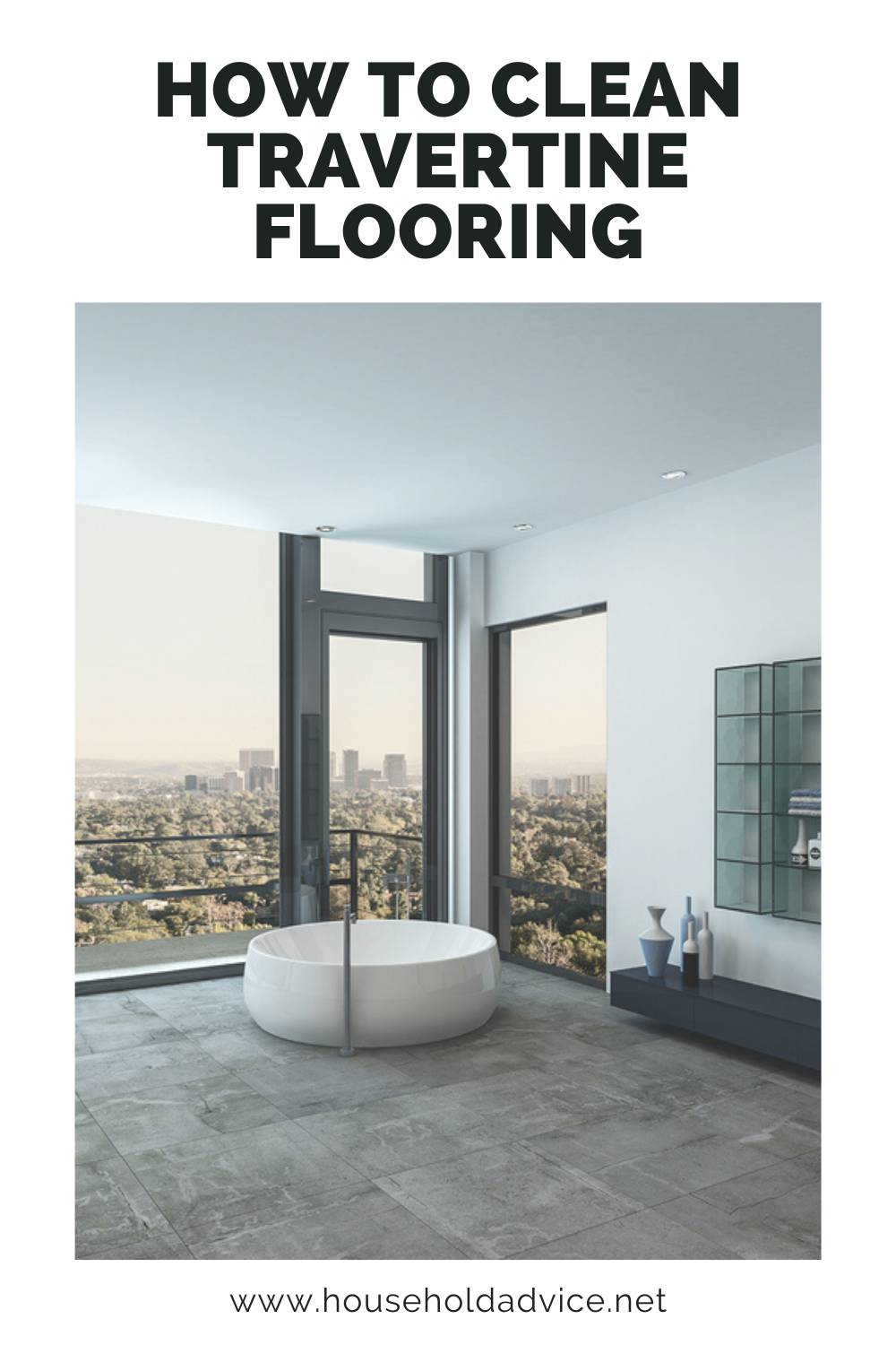 How To Clean Travertine Flooring (Always Consider This) in