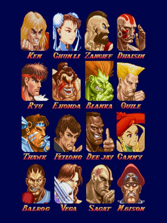 World Warriors Art Print By Crommorc Street Fighter Characters Street Fighter Game Street Fighter Art
