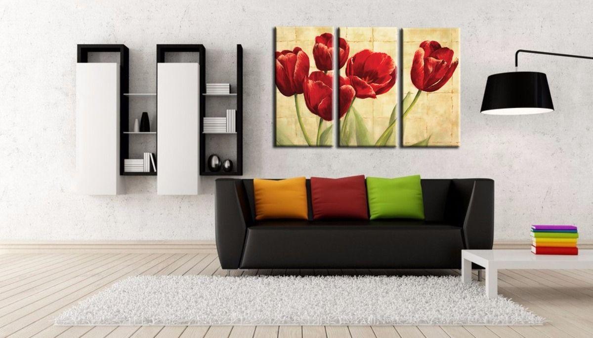 Ideas de decoración con cuadros de flores   Decoración   Pinterest ...
